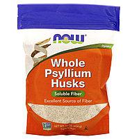 Псиллиум, Цельная оболочка семян подорожника, Now Foods, 454 г