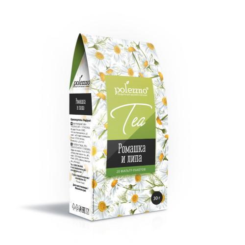 Ромашковый чай с Липой Polezzno