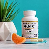 Gold C, витамин C, California Gold Nutrition, 1000 мг, 60 растительных капсул