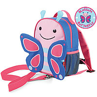 Детский рюкзак с поводком Zoo Бабочка, с 12 мес. (Skip Hop, США)