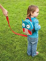 Детский рюкзак с поводком Zoo Совенок, с 12 мес. (Skip Hop, США)