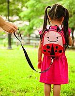 Детский рюкзак с поводком Zoo Божья Коровка, с 12 мес. (Skip Hop, США)