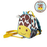 Детский рюкзак с поводком Zoo Жираф, с 12 мес. (Skip Hop, США)