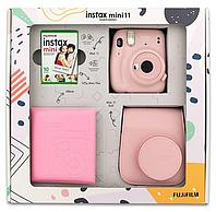 ПОДАРОЧНЫЙ НАБОР Фотоаппарат Fujifilm Instax Mini 11 Blush Pink