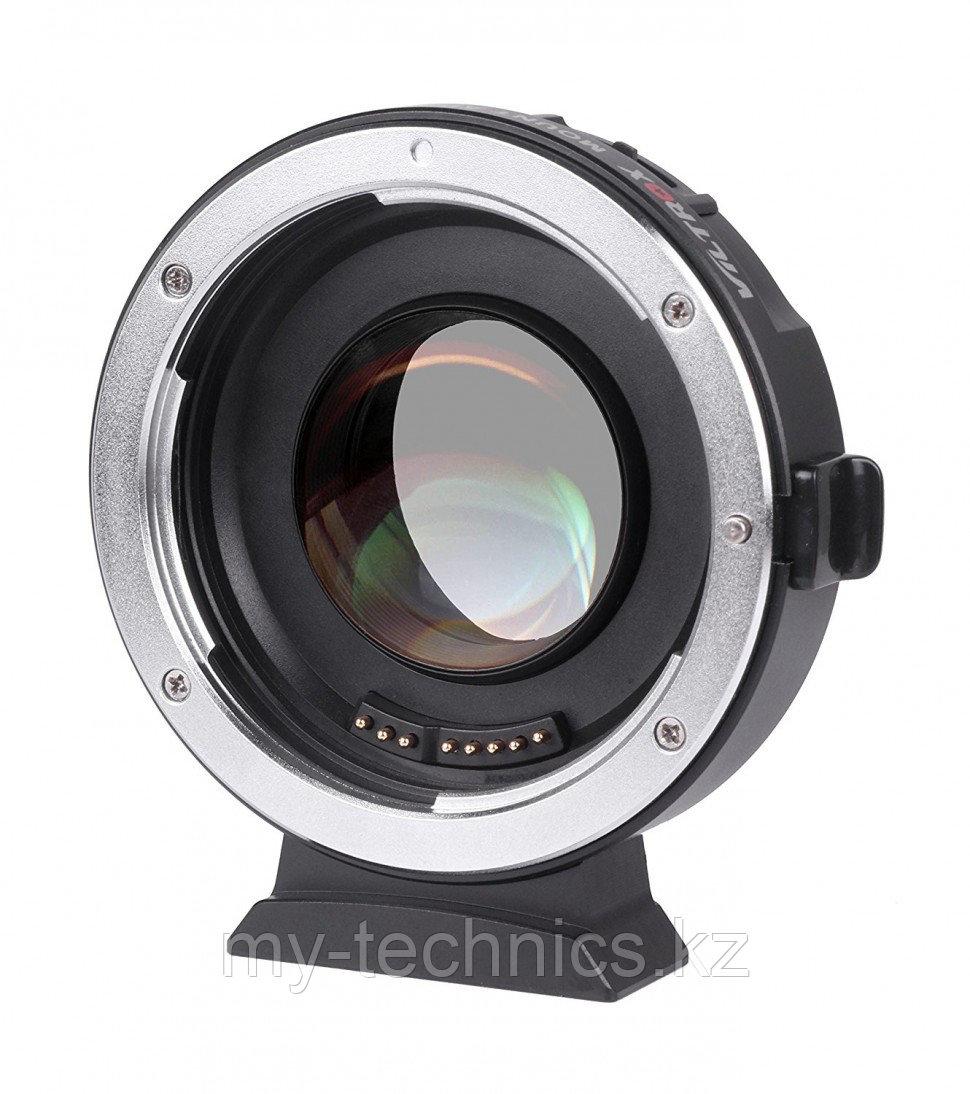 Переходник c автофокусом Viltrox EF-M2 II Speed Booster 0.71x (Canon EOS EF Lens на M4/3 Mount)