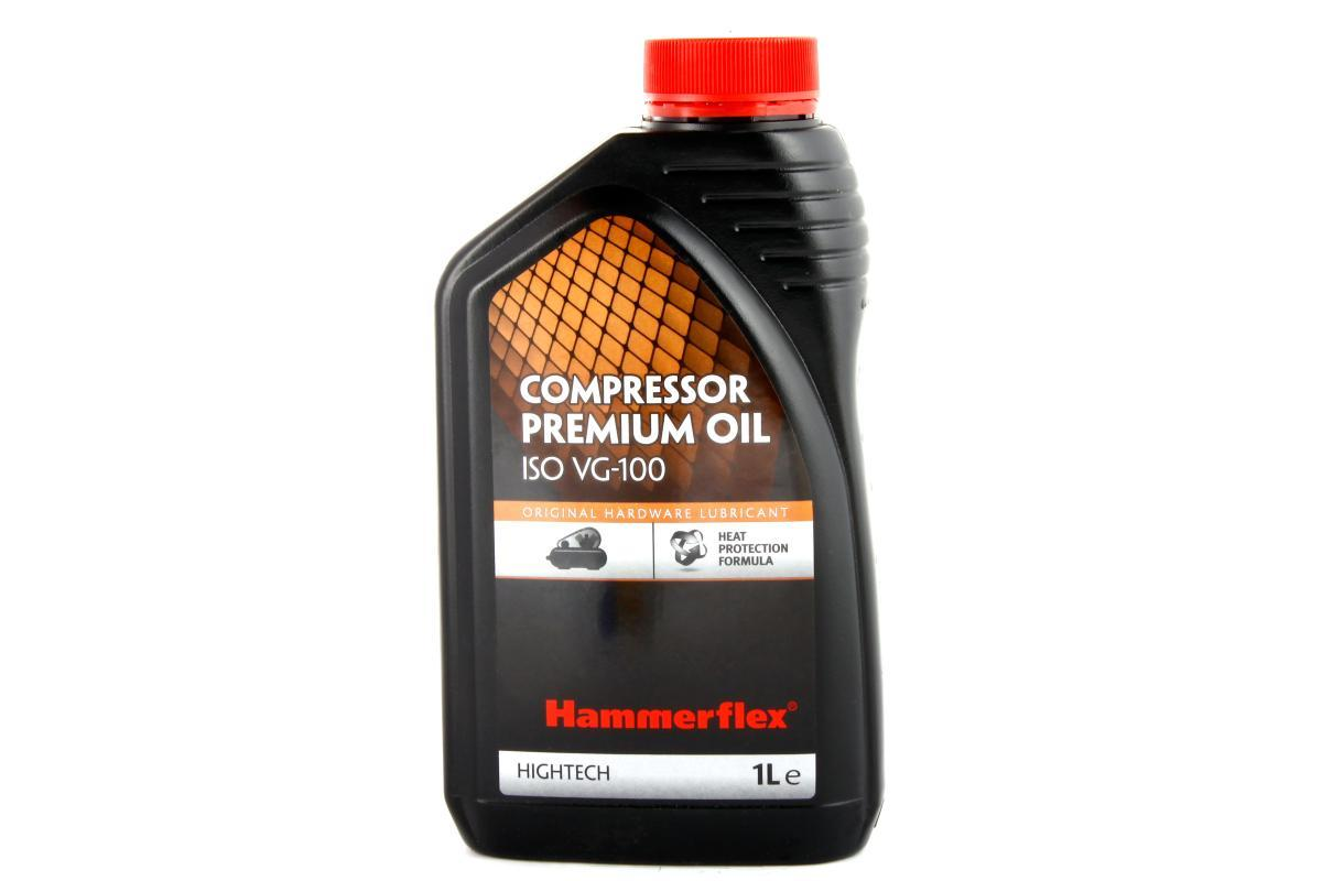 Hammer 54193 Масло Hammer Flex 501-012 компрессорное 1л., ISO VG-100 Hammer 501-012 11286