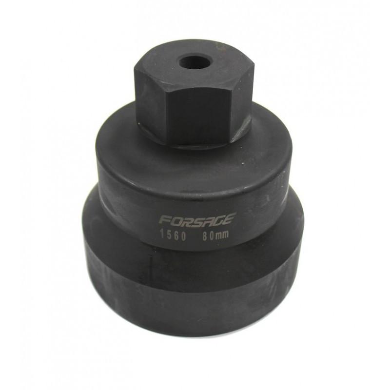 Forsage Головка для ступичных гаек передних колес колес грузовых а/м 80мм Forsage F-1560 48219