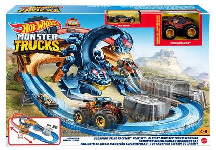 Игровой набор Hot Wheels Жало Скорпиона серии Monster Trucks (GNB05)
