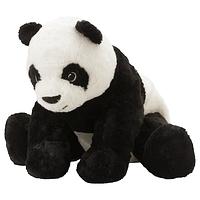 КРАМИГ Мягкая игрушка, белый/черный ИКЕА, IKEA