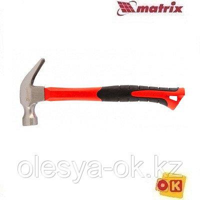 Молоток-гвоздодер 450 г, c магнитом. MATRIX optimal 10454