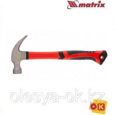 Молоток-гвоздодер 450 г, c магнитом MATRIX 10446