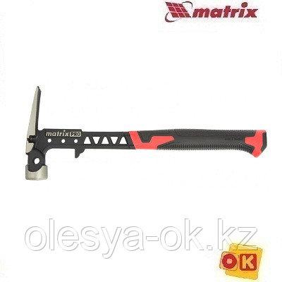 Молоток-гвоздодер 450 г, цельнокованый, боек с магнитом. MATRIX 10467