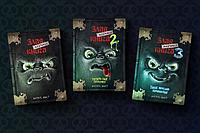 """Комплект из трех книг """"Злая маленькая книга 1, 2, 3 части"""", Магнус Мист, Твердый переплет"""