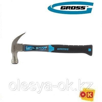 Молоток-гвоздодер 450 г, GROSS 10475