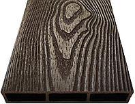 Доска из ДПК NauticPrime Esthetic Wood с 3D рисунком 150х25х2950мм.