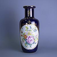 Парадная ваза Франция, Лимож. Середина ХХ века