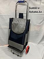 Сумка-тележка для продуктов на колесах. Высота 98 см, ширина 35 см, глубина 25 см., фото 1