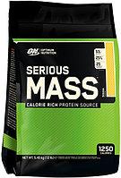 Optimum Nutrition, Serious Mass,High Protein Gain Powder, Chocolate, 12 lbs (5.4 kg)