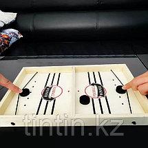 Настольная игра - Аэрохоккей, 35х22х3см, фото 2