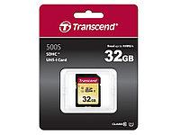 Карта памяти SD 32GB Class 10 U1 Transcend TS32GSDC500S