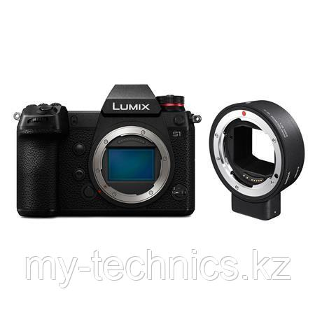 Фотоаппарат Panasonic Lumix DC-S1 + переходник Sigma MC-21 EF-L Mount