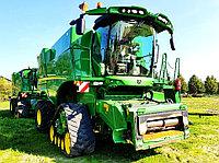 Бу зерноуборочный комбайн John Deere S690i с зерновой жаткой ZURN