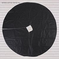 Круг приствольный, d = 1,6 м, плотность 60 г/м², спанбонд с УФ-стабилизатором, набор 5 шт., чёрный, «Агротекс»