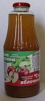 Сок яблочный с мякотью Bovana, 1 л.
