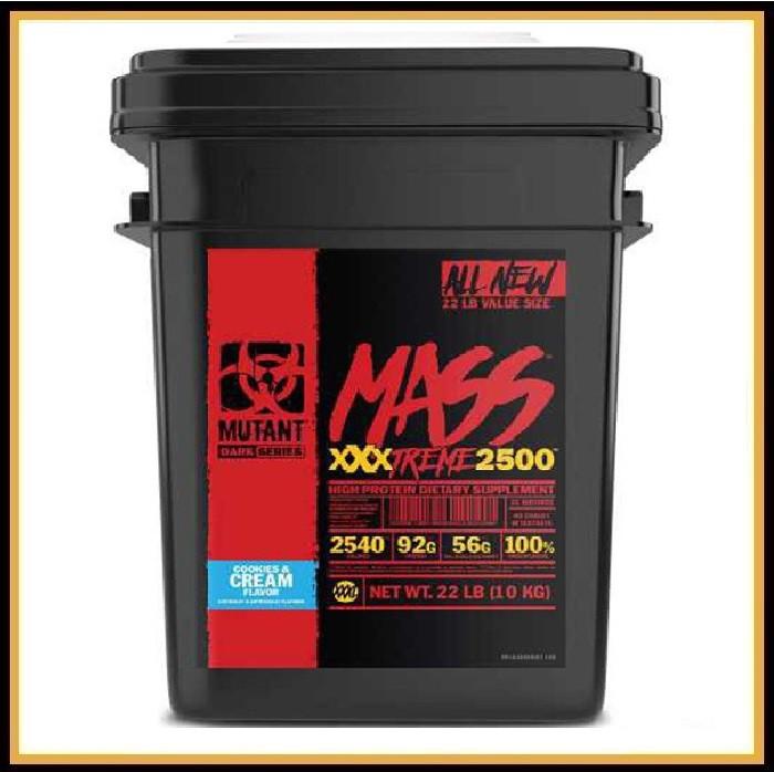 Mutant Mass XXXTREME 2500, 10кг (ваниль)