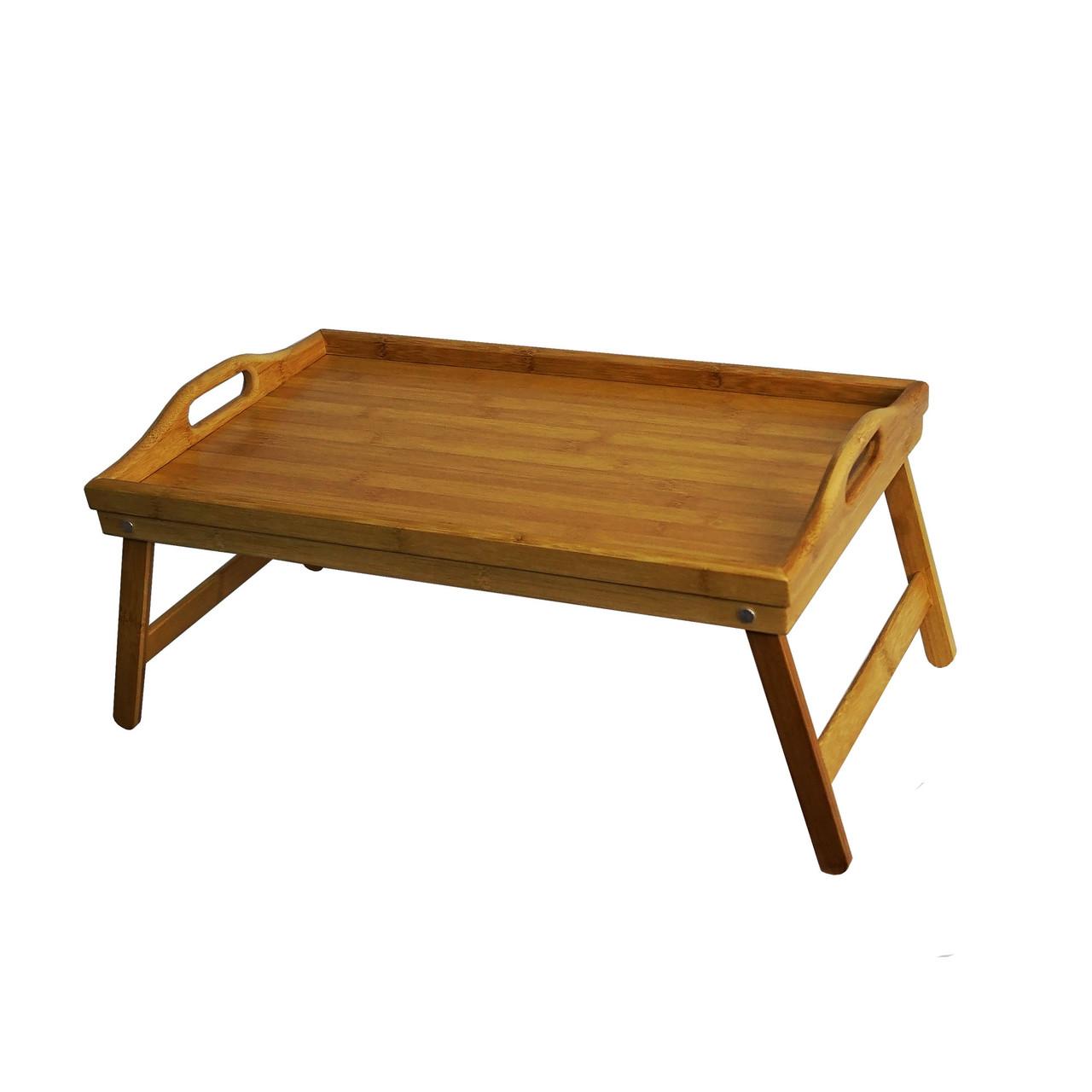 Уценка! Бамбуковый столик для завтрака