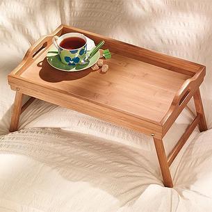 Уценка! Бамбуковый столик для завтрака, фото 2
