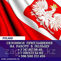 Сезонное Приглашение в Польшу