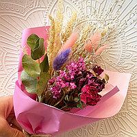 Букет из сухоцветов, высота 20-22 см