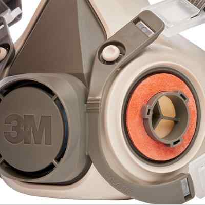3M 6200 Полумаска Серии 3M 6000, размер - средний (M) - фото 3