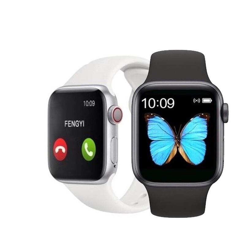 """Сенсорные умные часы-телефон """"T500"""" Smart-Watch Apple дизайн"""