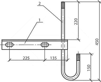 Траверса ТН-3 (3.407.1-136.01.05) МАЛИЕН