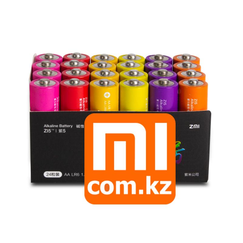 Батарейки Xiaomi ZMI ZI5 Rainbow 5 AA (24шт). Оригинал. Арт.6323