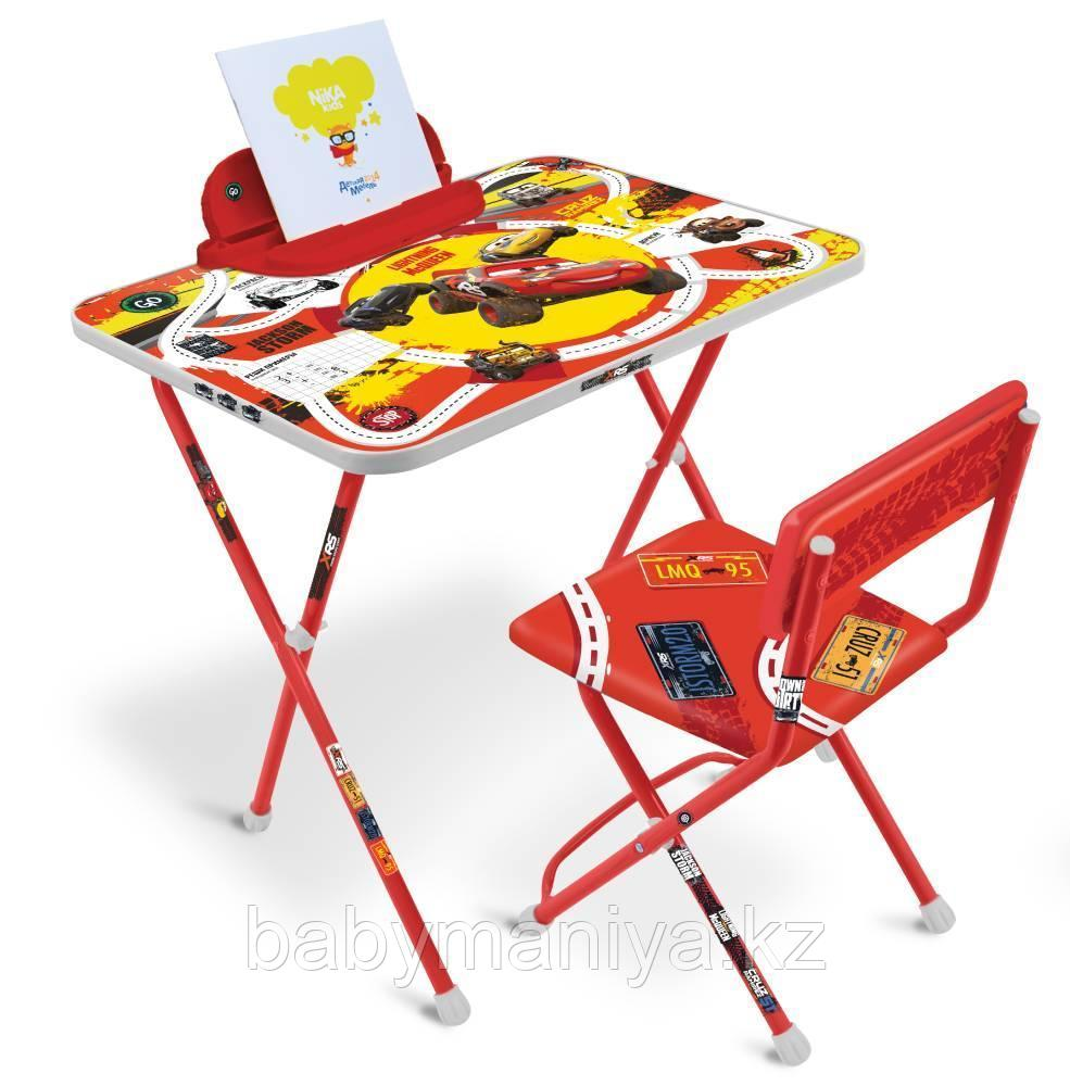 Набор детской складной мебели Ника Disney Тачки стол+стул