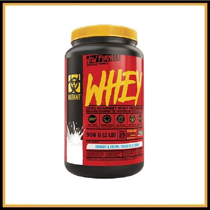 Mutant Whey 909gr (клубника)