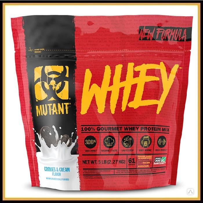 MUTANT WHEY (2270 g) (Шоколадный Торт)