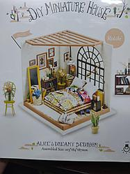 Развивающий интерьерный конструктор Diy House  Alice dreamy Bedroom