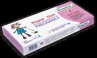 Экспресс-тест (полоска) для диагностики беременности 3 мм №1
