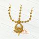 Тика - индийское украшение на голову, Золотистая со стразами, фото 5