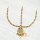 Тика - индийское украшение на голову, Золотистая со стразами, фото 2