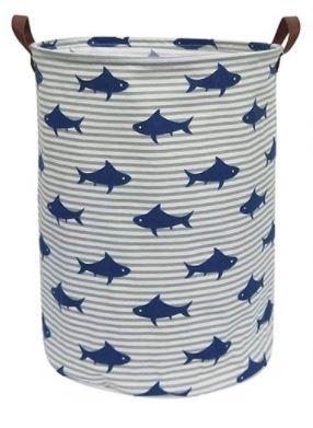 """Корзина """"Акулы"""" для дома, универсальная, для белья/ игрушек"""