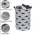 """Корзина """"Акулы"""" для дома, универсальная, для белья/ игрушек, фото 4"""