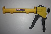 Пистолет для силикона Deca желтый