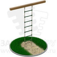 Подвесная лестница из армированного каната