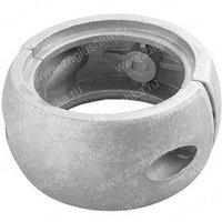 Алюминиевый хомут на трубу диаметром 76 мм. В основном используется при производстве воркаут-площадок.
