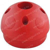 """Переходник пластиковый для труб с диаметрами 1"""" и 4""""."""